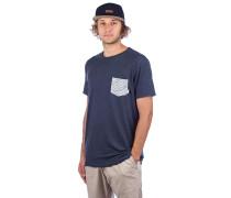 Choppy Day T-Shirt sky captain heather