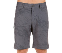 Gate Shorts charcoal grey wash