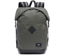 Fend Roll Top Backpack grape leaf