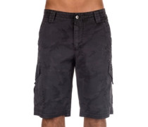 Slambozo Camo Cargo Shorts black camo