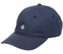 Madison Logo Cap stone blue white