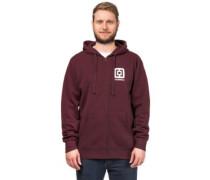 Mini Logo Sweater burgundy