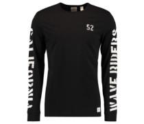 Statement T-Shirt LS black out