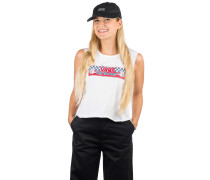 Bmx Muscle Tank Top white