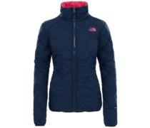 Zip In Reversible Down Fleece Jacket urban navy