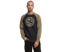 Circle Star Crew Sweater black