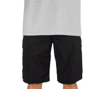 Regular Cargo Shorts rinsed black