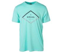 A-Frame T-Shirt aqua sky marle