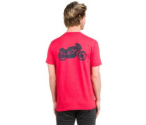 Aerohead T-Shirt red heather