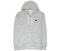 All Day Zip Hoodie grey
