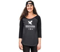 Justine T-Shirt LS black