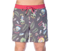 Mission Boardshorts black aop