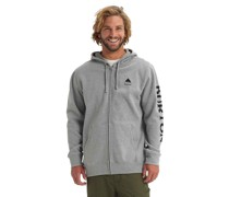Elite Full Zip Hoodie gray heather