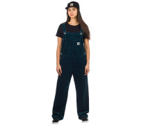 Bib Overall Straight Pants duck blue