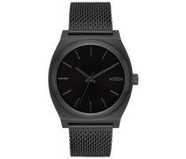 The Time Teller Milanese all black
