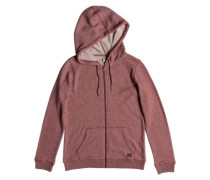 Trippin Zip Hoodie withered rose