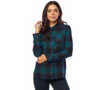 Kick It Flannel Shirt LS jade