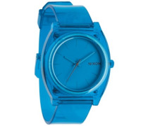 The Time Teller P translucent blue