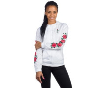 Keana Windbreaker wht rose