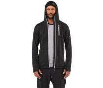 Merino Approach Tech Mid Hooded Jacket black