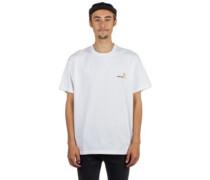 American Script T-Shirt white