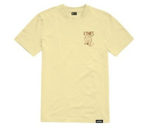 Phil Morgan Finger Flip T-Shirt light yellow
