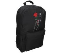 Brenda Rose Hand Backpack black