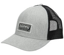 Walled Trucker Cap heather grey
