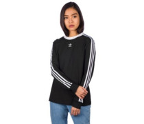3 Stripes T-Shirt LS black