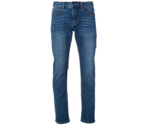 Straight Jeans tidal blue