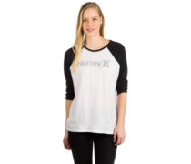 One And Only Perfect Raglan T-Shirt LS white