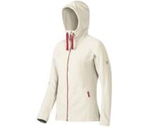 Yampa Advanced Ml Hooded Fleece Jacket stone white