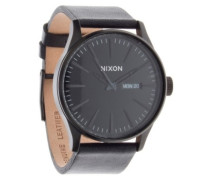 The Sentry Leather all black