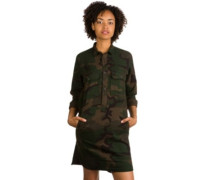 Salinas LS Dress camo combat green