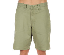 "Authentic Stretch 20"" Shorts oil green"