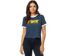 Race Team Crop T-Shirt navy