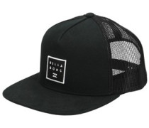 Stacked Trucker Cap black