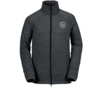 Riding Raglan Fleece Jacket black