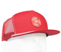 The ACL Trucker Surf Cap bright red