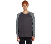 Stoney T-Shirt LS charcoal heathe