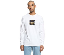 london T-Shirt LS white