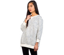 Essentials Stripe Crew Sweater blue