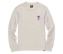 Tough Guy Crew Sweater bone white