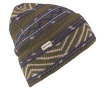 Hutsworth Beanie clover indigo stripe
