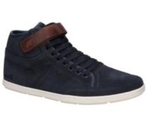 Swich Blok Sneakers waxed suede navy