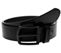 All Black Buckle Belt black