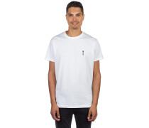 Rosebong Emb T-Shirt white