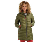Evergreen Long Down Insulator Jacket drsblu