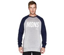 Merino Covert Tech Sweater grey marl