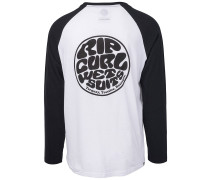 Original Raglan Long Sleeve T-Shirt white